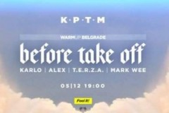 Warm UP Belgrade Before Take Off vol.1 at KPTM