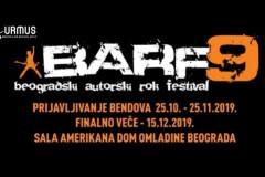 POZNATI FINALISTI BARF9 – vidimo se 15.decembra u Domu omladine Beograda!