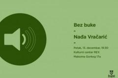 Bez buke: Nađa Vračarić
