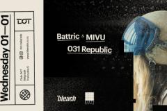Bleach agencija predstavlja: Repriza Nove Godine u DOT-u, uz Bleach x Dirty Soundz žurku!
