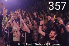 Bjestovi odloženi, u Festu ove subote 357!