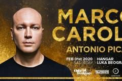 Globalni trendseter i legenda elektronske muzike – Marco Carola vraća se u Beograd