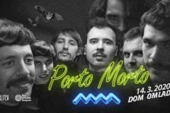 Porto Morto nastupa u Domu omladine Beograda