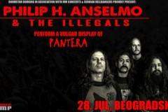 Legendarni i neponovljivi PHIL ANSELMO sa svojim bendom THE ILLEGALS dolazi u Beograd!