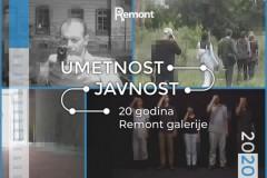UMETNOST I JAVNOST, obeležavanje 20 godina Remont galerije