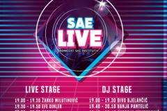 SAE Live: koncert, Game Art i VFX izložba