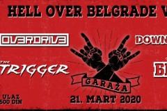 HELL OVER BELGRADE – Drugo izdanje festivala 21.marta u Garaži!