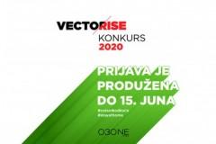 VECTORISE KONKURS: Prijava je produžena do 15. juna