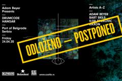 Saopštenje povodom odlaganja događaja Adam Beyer presents Drumcode @ Belgrade