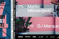 Blender House Parties #4 – Marko Milosavljević i Marquez V. uz DE & MO after party