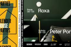 Blender House Parties #7 – Roxa i Peter Portman