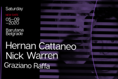 Tradicionalni nastup Hernan-a Cattaneo-a i Nick-a Warren-a u Barutani, odlaže se za 5.septembar