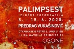 """Otvaranje izložbe """"Palimpsest"""" Predraga Vukašinovića"""