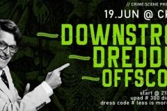 Koncert bendova DOWNSTROY, DREDDUP i OFFSCORE u Novom Sadu