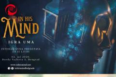 In his Mind (Igra uma) - Uzbudljiva, provokativna, interaktivna predstava o najozloglašenijem serijskom ubici u istoriji