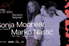 Nastup Sonje Moonear u Barutani odlaže se za kraj jula