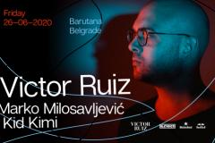 Uz Victora Ruiza, Marko Milosavljević i Kid Kimi, krajem juna u Barutani