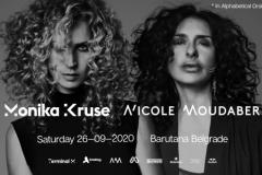 Tehno zvezda Nicole Moudaber, pridružuje se legendarrnoj Moniki Kruse na zatvaranju Barutane