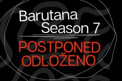 Odlaganje programa kluba Barutana
