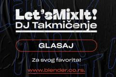 Lets Mix It DJ takmičenje – glasanje počinje