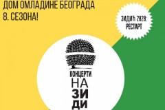 Od 28. avgusta nastavak programa u Domu omladine Beograda