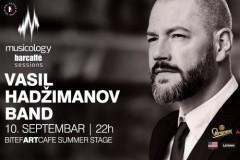 Musicology Barcaffè Sessions nastavlja sezonu koncertom Vasil Hadžimanov benda