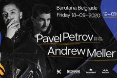 Treći vikend septembra u Barutani: Andrew Meller i njegov gost iz Bugarske