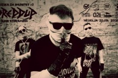 Online koncert novosadskog indastrijal rok benda DREDDUP