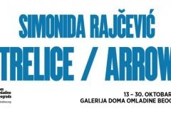 "Izložba ""Strelice/Arrows"" Simonide Rajčević"