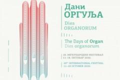 """Jubilarni 20. Međunarodni festival """"Dani orgulja"""""""