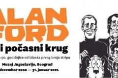 """Izložba """"Alan Ford trči počasni krug"""" u Muzeju Jugoslavije"""
