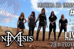 Muzika za imunitet predstavlja: Nemesis livestream concert