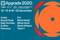 Apgrade 2020: Onlajn festival elektronske muzike sa krovova silosa i obale Dunava u vaš dom