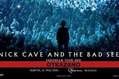 Otkazan koncert Nick Cave and The Bad Seeds u Beogradu