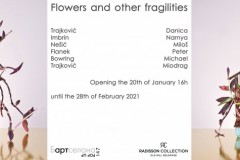 "Бартcелона POP UP 147: Gorup photography exhibition ""Flowers and other Fragilities"" in the Radisson Collection Hotel, Old Mill Belgrade"