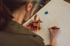 """Javni čas crtanja u Gradskoj galeriji KC Grad u znaku Danteove """"Božanstvene komedije"""""""