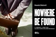 "Izložba ""Nowhere to be found"" Huseina Đulovića u Galeriji DOB"