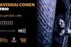 Avishai Cohen Trio 23. aprila u Kombank dvorani