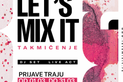 DRUGO IZDANJE LETS MIX IT TAKMIČENJA