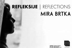 Fondacija MIRA BRTKA i Muzej grada Beograda predstavljaju retrospektivnu izložbu radova Mire Brtke, REFLEKSIJE | REFLECTIONS