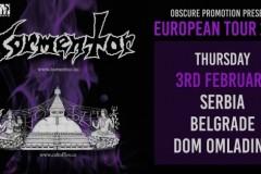 MM Concerts & Serbian Hellbangers predstavljaju: TORMENTOR / CULT OF FIRE