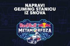 Otvorene su prijave za novi studentski projekat Red Bull Metamorfoza - okupi ekipu i napravite gejming stanicu iz snova!