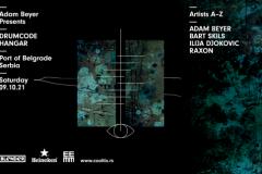 Gostovanje globalne tehno zvezde Adama Beyera i Drumcode Showcase odlaže se za oktobar