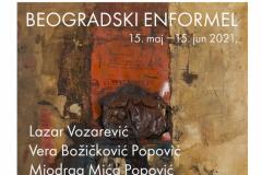 "Izložba ""BEOGRADSKI ENFORMEL"" - kapitalna dela najvažnijih predstavnika ovog pravca u Modernoj galeriji Beograd"