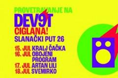 Provetravanje na festivalu Dev9t se nastavlja od 15. do 18. jula