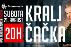 Posle godinu i po dana Kralj Čačka ponovo u Novom Sadu!