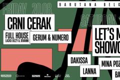 Koncert trap sastava Crni Cerak i prvi Let's Mix It Showcase ovog vikenda u Barutani