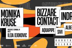Kraj avgusta u Barutani uz nastup tehno zvezde Monike Kruse i gostovanje trens izvođača Bizzare Contact i Indra