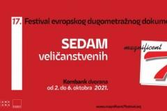 """17. FESTIVAL """"SEDAM VELIČANSTVENIH"""" – od 2. do 6. oktobra u Kombank dvorani"""