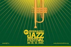 "37. Beogradski džez festival, pod sloganom ""DŽEZ PLAMEN"" / ""JAZZ FLAME"""
